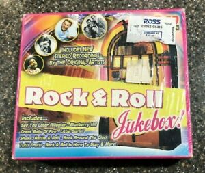 Rock-and-Roll-Jukebox-by-Various-Artists-CD-Mar-2005-3-Discs-New-Sealed