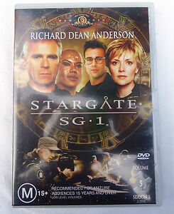 Stargate-SG-1-Volume-5-Season-5-Episode-17-22-Richard-Dean-Anderson-2-Disc-DVD