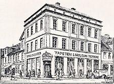 Inneneinrichtung Grauer & Stoya Potsdam Reklame 1931 Gardinen Teppich Werbung ad