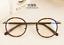 Vintage-Literary-TR90-Metal-Retro-eyeglass-frame-Round-Clear-Glasses-Women-Men thumbnail 13