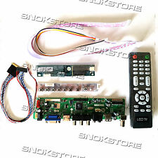 KIT HDMI VGA DVI RCA AUDIO USB LCD CONTROLLER BOARD FOR LOTS LCD PANEL INVERTER