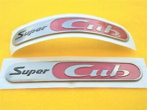 Honda H2c Genuine Super Cub Decal Sticker Fairing Badges Uk Stock Ebay