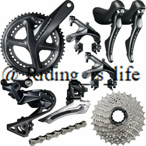 Shimano Ultegra R8000 2X11Speed Full Road Groupset 5034T170MM172.5MM