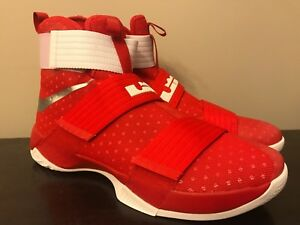 timeless design 3acc6 c549a Image is loading Nike-Men-s-LeBron-Soldier-XI-10-Basketball-