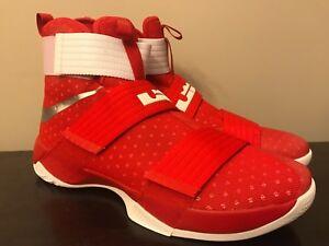 timeless design d34ec 2a3fc Image is loading Nike-Men-s-LeBron-Soldier-XI-10-Basketball-