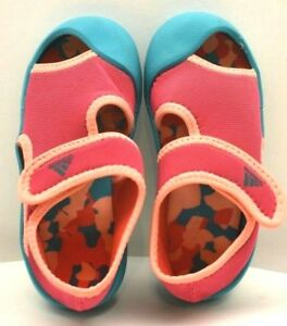 1039ba1a703e8 Adidas Sandals Fun 1 Toddler Baby Peach US SZ 5C FREE SHIPPING BRAND ...