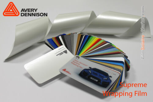 Pearl White Avery Dennison Supreme Wrapping Film Total Covering CB1610002