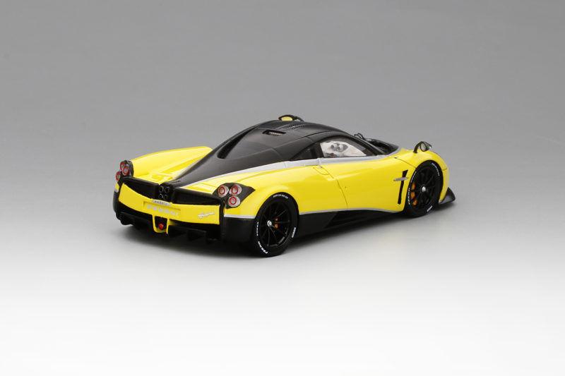 Pagani Huayra Pacchetto Tempesta 2016 jaune Ginevra 1 1 1 43 Model 743e08
