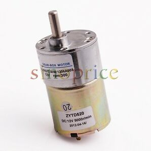 Gear motor collection on ebay for 300 rpm high torque dc motor