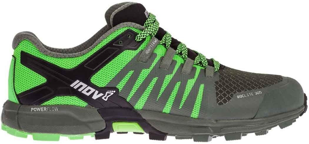 Inov8 Roclite 305 Mens Trail Running shoes - Green