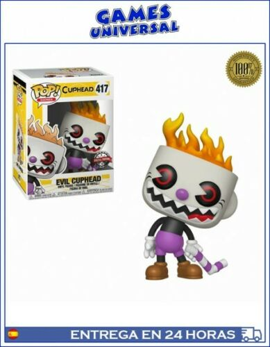 Pop Funko Cuphead Evil Cuphead Special Edition