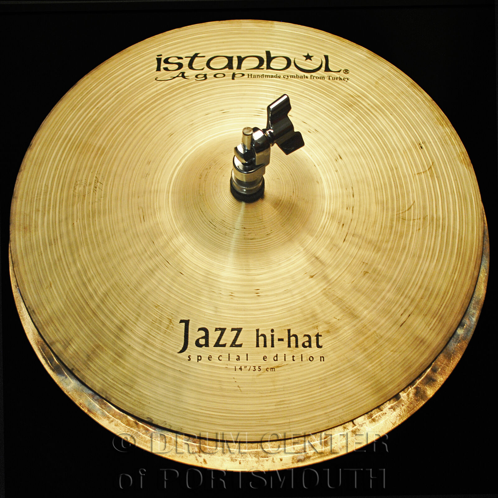 Istanbul Agop Special Edition Jazz Hi Hat Cymbals 14  873 1003 grams - SEH14