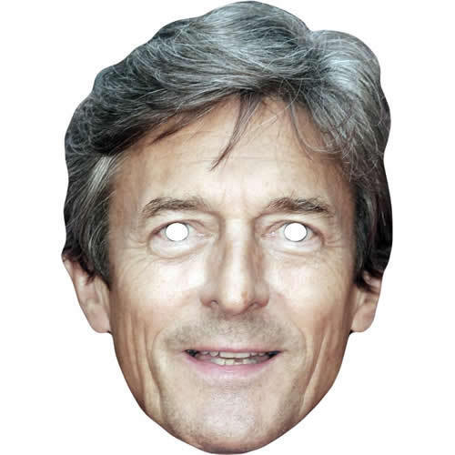 All Our Masks Are Pre-Cut Nigel Havers Celebrity Actor Card Face Mask