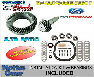 """FORD RACING 8.8/"""" 3.73 RING GEAR AND PINION M-4209-88373"""