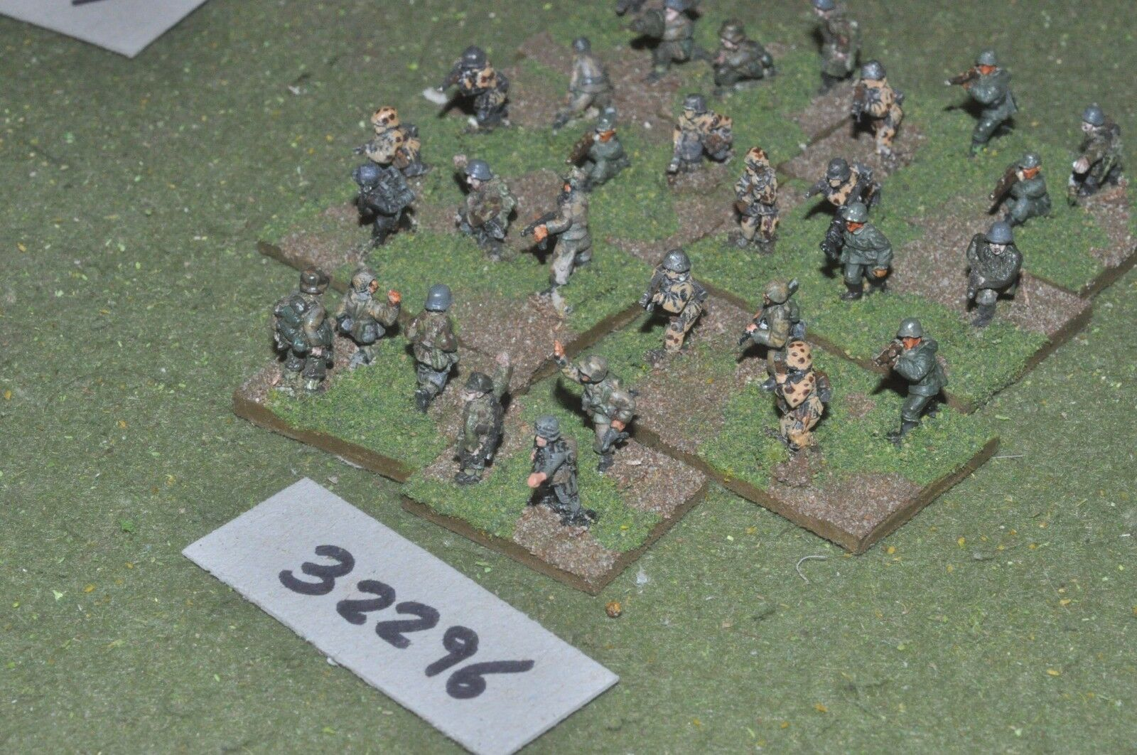 15mm WW2   german - section 30 figures - inf (32296)