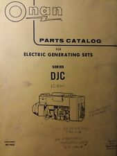 Onan Diesel Djc Electric Generator Sets Parts Manual 967 0222 9 77