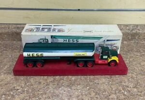Vintage 1967 Hess Red Velvet Tanker Truck w/ Original Box & Insert No Reserve!
