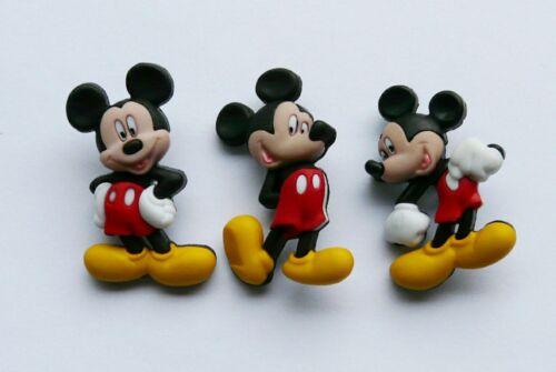 Nuevo Disney Mickey Mouse Novedad Vestido para arriba Botones Costura Cardmaking