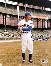 Cubs Ernie Banks Authentic Signed 8x10 Photo Autographed BAS 4