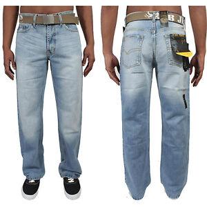herren jeans bootcut markenartikel designer helle waschung. Black Bedroom Furniture Sets. Home Design Ideas
