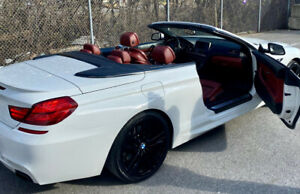BMW 650i X-drive 2012 Convertible M Sport *Red Interior*