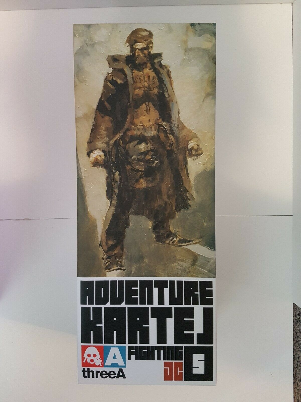 3A Adventure Kartel Fighting JC 1 6 scale Action Figure three a