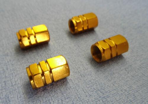 AZUL//NEGRO//DORADO//ROJO PLATA Metálico Válvula Polvo Tapas De Protección