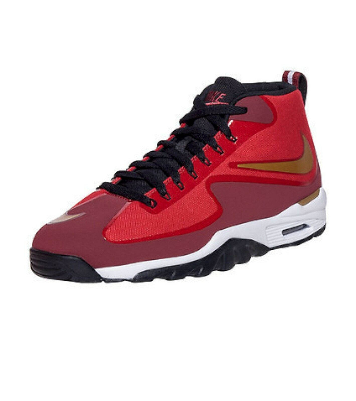 NEW VAPOR GENUINE Nike Mens Size 11 AIR UNTOUCHABLE VAPOR NEW Running Shoes Red 807164-600 ab2008