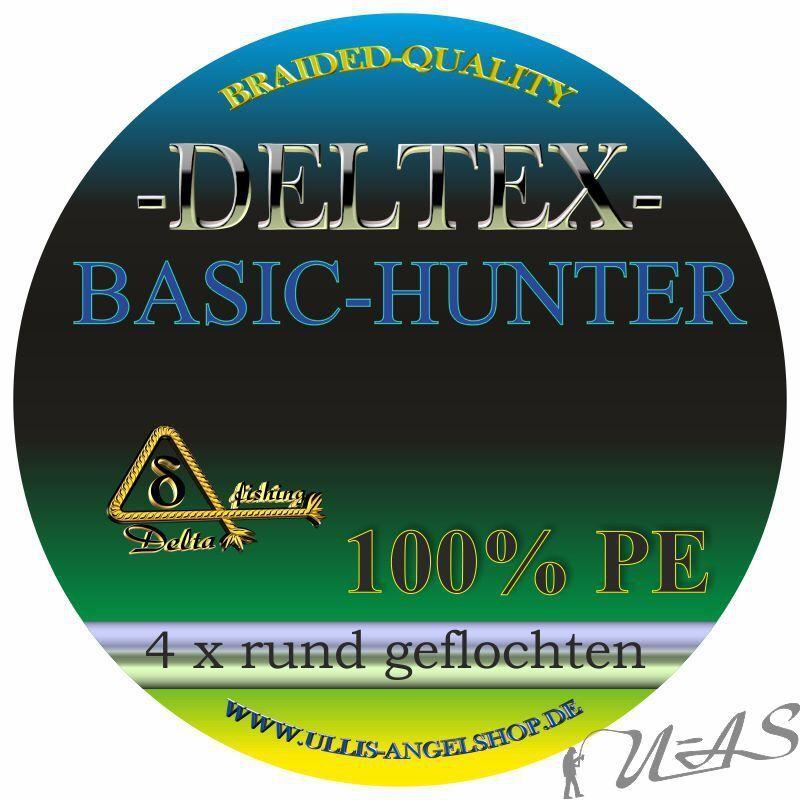 Deltex Basic Basic Basic Hunter Multi Farbe 0,35mm 1000M Rund Geflochtene Angelschnur Kva bb206f
