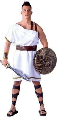Mens Adult Historical Spartan Toga TV Film Fancy Dress Costume Outfit M /& L
