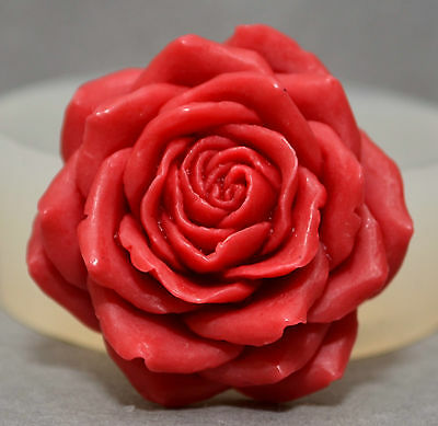 FLOWER - SILICONE MOULD - food use, resin, polymer clay, wax, plaster mold rose