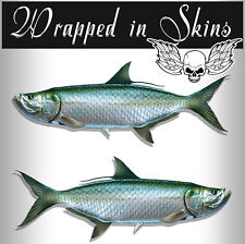 Giant Trevally Decals Fish Stickers Tackle Box RV Truck Trailer AFP-0019