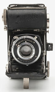 Balda Jubilette Klappkamera Balgenkamera - Baltar 1:2.9 F=5cm Optik