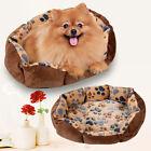 Pet Dog Puppy Cat Gray Bed House Nest Mat Pad Cozy Soft Warm Fleece BEST
