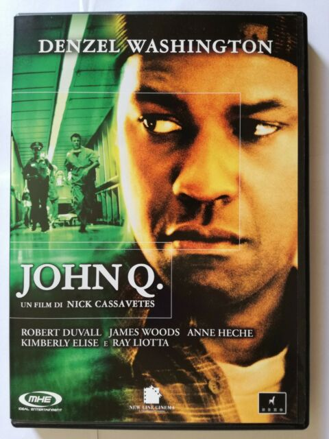 John Q (Drammatico 2001) DVD film con Denzel Washington