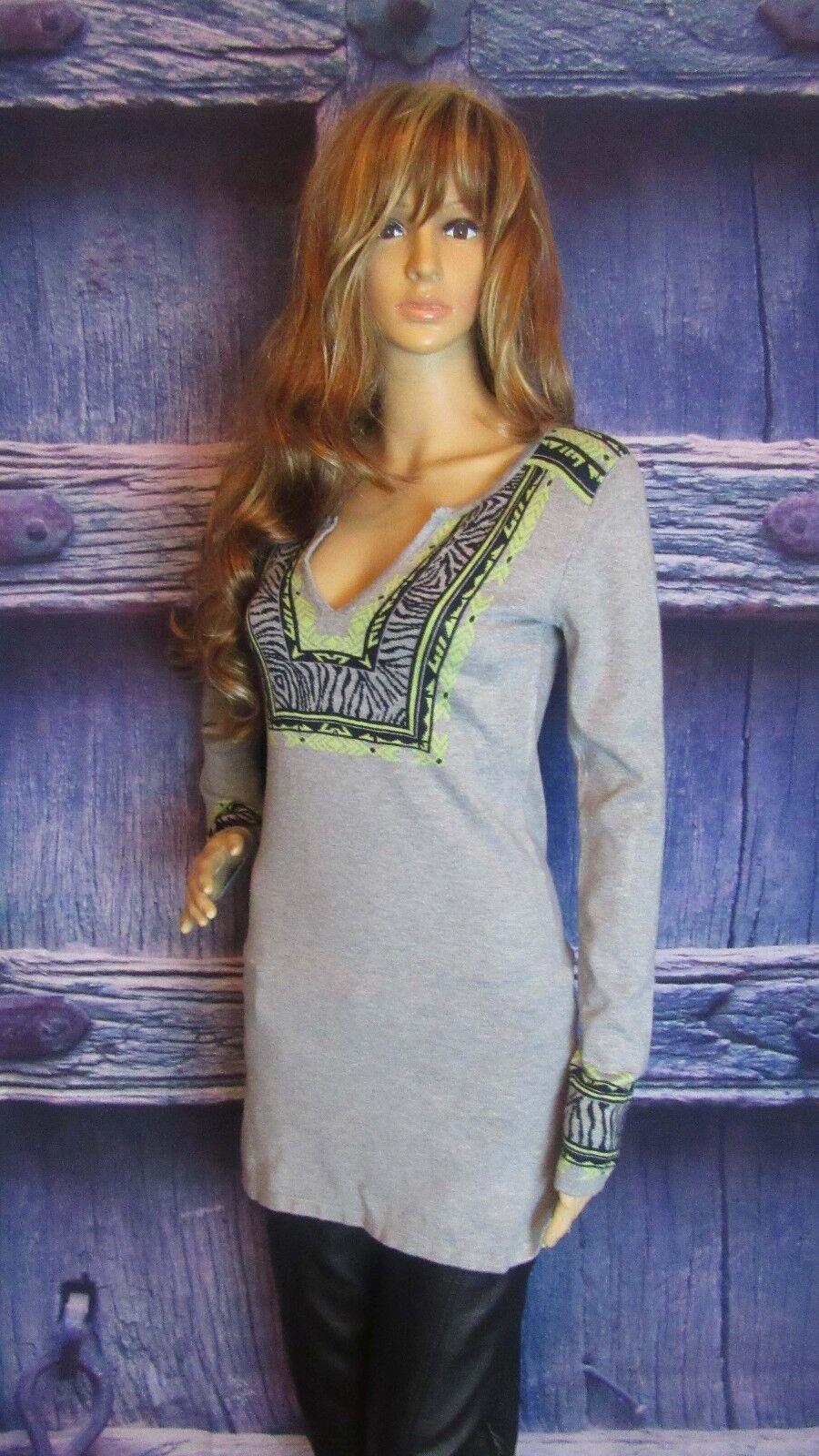 Anthropologie Anthropologie Anthropologie Hale Bob Geometric Tunic Cardigan Sweater Top. Size XS Super Soft. 8c7f94