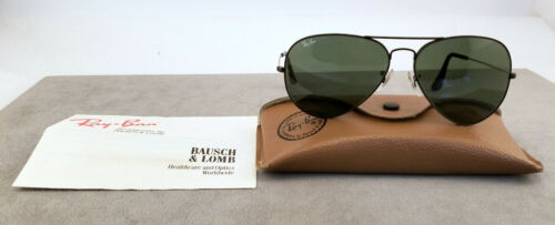 Vintage 1970s 80s Bausch & Lomb Ray Ban Aviator Sh