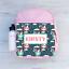 Cute Girls Kids Backpack Childrens School Bag Personalised Unicorns Flying