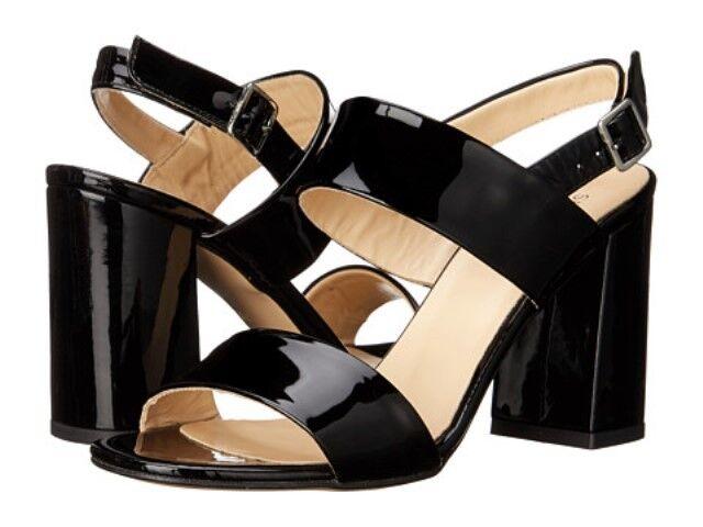 salutare New Sz.9 Summit by bianca Mountain Morna Patent Leather nero nero nero Heel scarpe-ITALY  godendo i tuoi acquisti