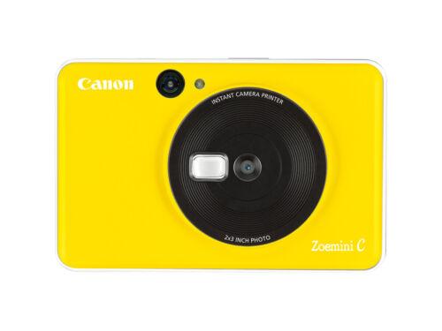 Canon zoemini C Bumblebee YELLOW immediatamente immagine telecamera 5mp GIALLO MINI-STAMPANTE FOTOGRAFICA