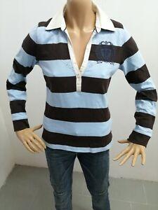Polo-TOMMY-HILFIGER-donna-taglia-size-M-woman-maglia-maglietta-t-shirt-P-6035