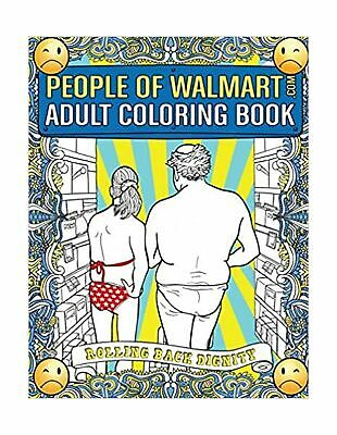 People of Walmart.com Adult Coloring Book Rolling Back ...