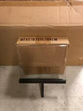 Sign Holders New 7 X 6 Clothing Rack Commercial Lexan W Metal Base Case 10 Pc