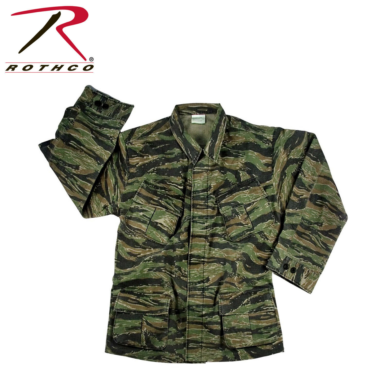 redhco Vintage Vietnam Style Fatigue  Shirts TIGER STRIPE  enjoy saving 30-50% off