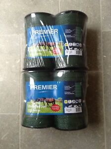 Electric-fencing-tape-4-rolls-of-20mm-x-200m-GREEN-tape-800m-total-length