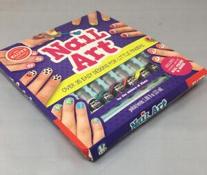 klutz 156739 nail art book kit fun for kids nail polish