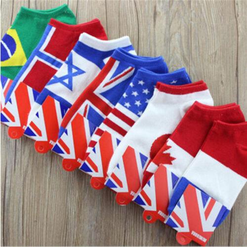 Men Fashion Ankle Socks Low Cut Crew Casual Sport Color Cotton Socks 1 Pair