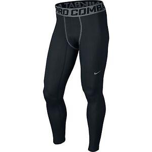 5da9e4af3d7a0 Nike Pro Combat Hyperwarm Compression LITE Men's Tights Style 596297 ...