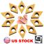 10pcs-DCMT070204-YBC251-Carbide-Inserts-for-SDNCN1010H07-SDNCN1212H07-Lathe-Bar thumbnail 1