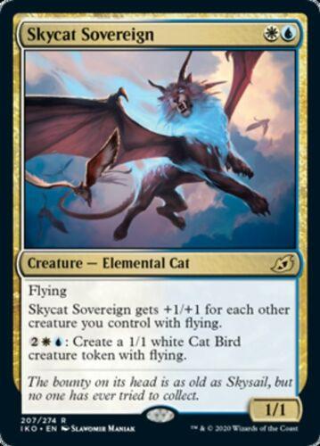 FOIL Lair of Behemoths MtG Skycat Sovereign x4x Ikoria